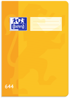 Školní sešit 644 Oxford - A6, linkovaný, 40 listů, žlutý