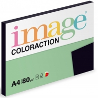 Barevný papír A4 Image Coloraction Black - černá, 80 g, 100 listů
