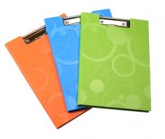 Dvojdeska s klipem A4 Neo Colori - jednoduchá, lamino, zelená