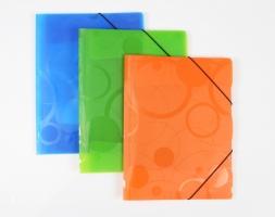 Desky s gum.A4 Neo Colori oranžová