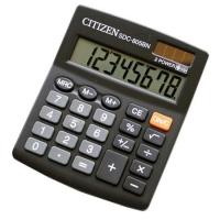 Stolní kalkulačka Citizen SDC 805 BN - 1 řádek, 8 znaků, černá