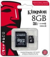 Paměťová karta Kingston - micro SDHC, s adaptérem, UHS-I, 8 GB