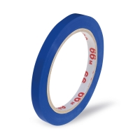 Lepící páska pro zavírací strojek - solvent, 9x66 m, modrá
