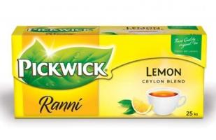 Černý čaj Pickwick - ranní s citronem, 25 sáčků