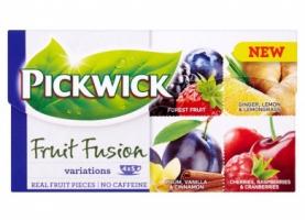 Ovocný čaj Pickwick - kouzelné variace se švestkou, 20 sáčků