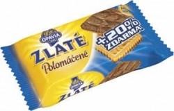 Zlaté sušenky Opavia - polomáčené, mléčné, 100 g