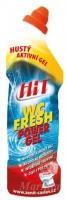 Čistící a dezinfekční prostředek na WC Hit Power gel - fresh, 750 g