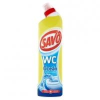 Čistící a dezinfekční prostředek Savo WC - ocean, 750 ml