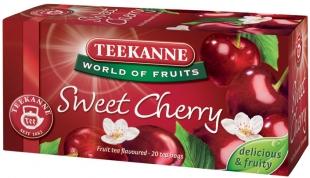 Ovocný čaj Teekanne - sweet cherry, 20 sáčků