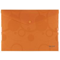 Spisové desky s drukem Neo Colori A4 - plastové, oranžové