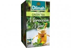 Zelený čaj Dilmah - marocká máta, 20 sáčků