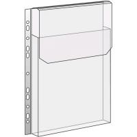 Prospektový obal na katalogy s klopou - A4, 180 my, transparentní, 10 ks
