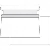 Poštovní obálka C5 - bez okénka, krycí páska, 162x229 mm, bílá, 10 ks