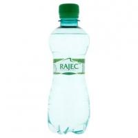 Jemně perlivá voda Rajec - PET, 0,33 l, 12 ks