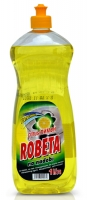 Prostředek na mytí nádobí Robeta - citrus, 1 l