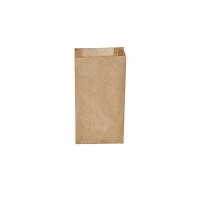 Svačinový papírový sáček 1 kg - 12+5x24 cm, hnědý, 500 ks