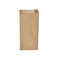Svačinový papírový sáček 2,5 kg - 15+7x35 cm, hnědý, 500 ks