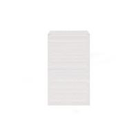 Lékárenský papírový sáček - 11x17 cm, bílý, 3000 ks