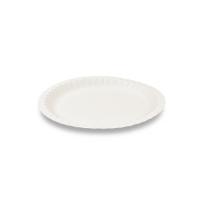 Kulaté víčko pro termo misku na polévku 350-500 ml - XPS, bílé, 50 ks