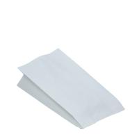 Sáček na grilované kuře 1/1 - dvouvrstvý, 13+8x28 cm, papír/PE, bílý, 100 ks