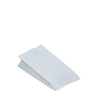 Sáček na grilované kuře 1/2 - dvouvrstvý, 10,5+5,5x24 cm, papír/PE, bílý, 100 ks