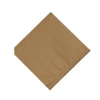 Papírový sáček - univerzální, 16x16 cm, hnědý, 500 ks