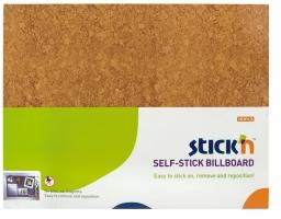 Samolepící nástěnka Stick n Hopax Self - Stick Billboard - 460x580 mm, hnědá