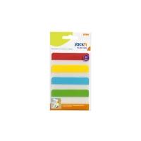 Plastové záložky Stick n Hopax Filing Tabs - 38x76 mm, 4x6 záložek, 4 barvy