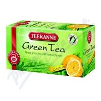 Zelený čaj Teekanne - s citronem, 20 sáčků
