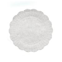 Papírová rozetka - průměr 28 cm, bílá, 500 ks
