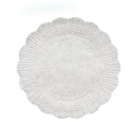Papírová rozetka - průměr 30 cm, bílá, 500 ks
