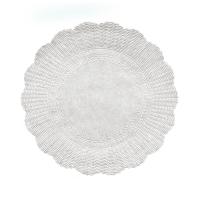 Papírová rozetka - průměr 32 cm, bílá, 500 ks