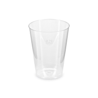 Plastový kelímek Krystal 0,2 l - PS, transparentní, 50 ks