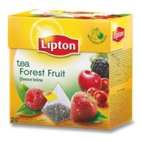 Černý čaj Lipton - pyramidový, forest fruit, 20 sáčků - DOPRODEJ