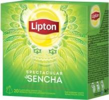 Zelený čaj Lipton - pyramidový, spectacular sencha, 20 sáčků