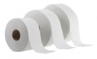 Toaletní papír Jumbo 240 - dvouvrstvý, 100% lepená celulóza, 6 rolí