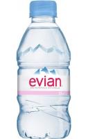 Neperlivá voda Evian - PET, 0,33 l, 24 ks