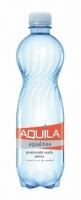 Perlivá voda Aquila - PET, 0,5 l, 12 ks