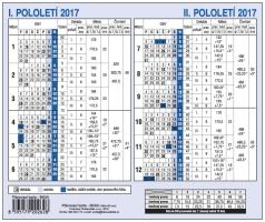 Planovací karta BKA0 - 180x150 mm