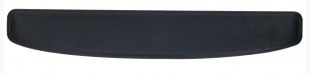 Předložka klávesnice - ergonomická, černá, gelová