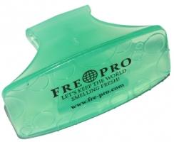 Gelová vonná závěska na WC FrePro Bowl Clip - zelená, meloun-okurka