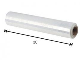 Potravinová fólie 30 cm - 10 my, transparentní, 300 m - DOPRODEJ
