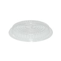 Víčko pro termo talíře 22,5 cm - plastové, transparentní, 100 ks