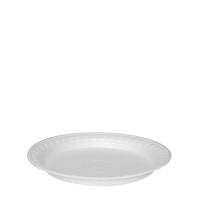 Termo talíř 22,5 cm - EPS, nedělený, bílý, 100 ks