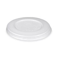 Kulaté víčko pro termo misku na polévku 500 ml - XPS, bílé, 50 ks