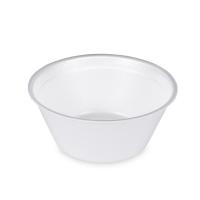 Kulatá termo miska na polévku 350 ml - XPS, bílá, 50 ks