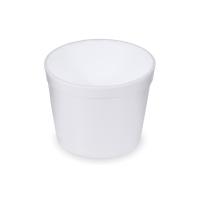 Kulatá termo miska na polévku 550 ml - EPS, bílá, 25 ks - DOPRODEJ