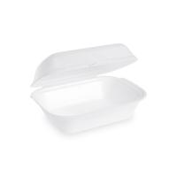 Úzký menu box - EPS, 18,5x13,3x7,5 cm, bílý, 125 ks
