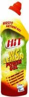 Čistící a dezinkekční prostředek na WC Hit Power gel - lemon, 750 g