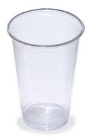 Plastový kelímek 0,3 l - PP, transparentní, 100 ks